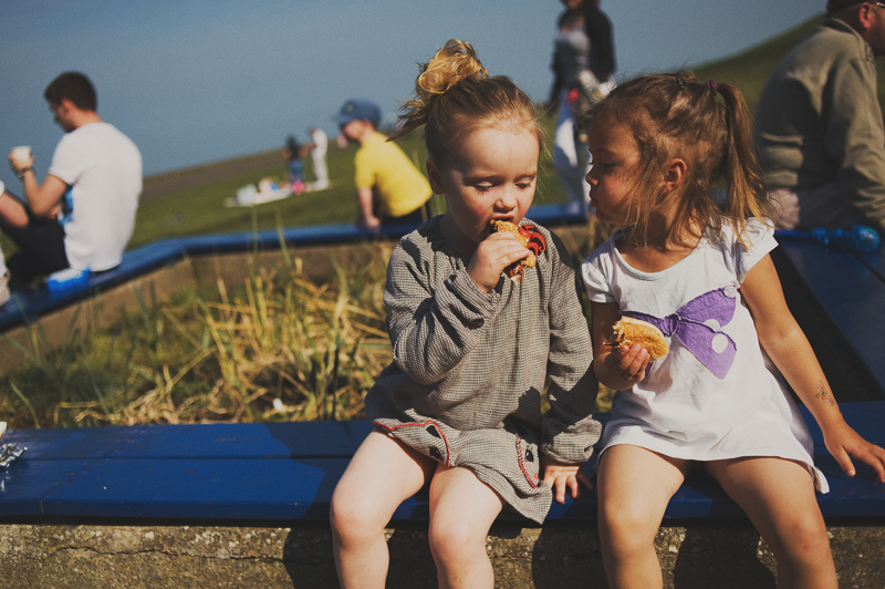 best snacks on Cramond Beach in Edinburgh