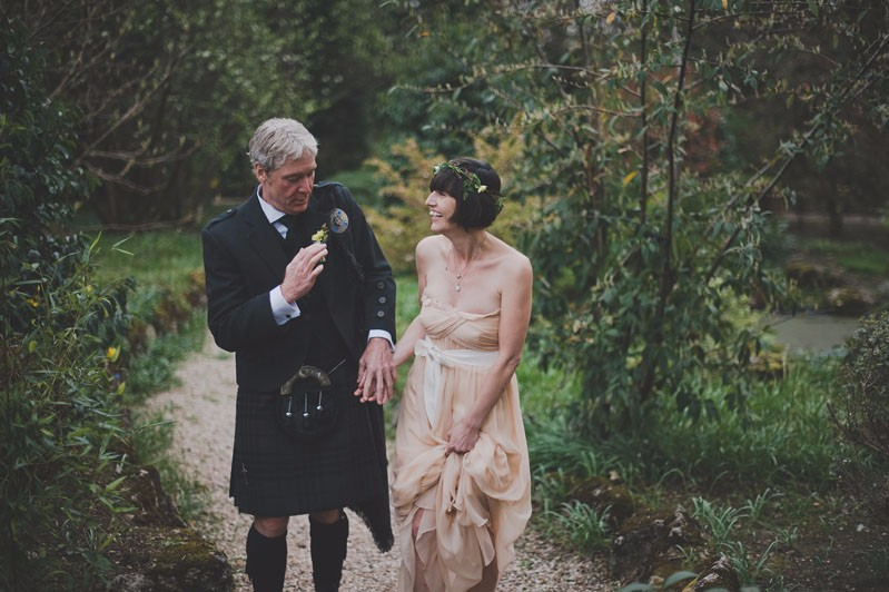 Destination wedding in Alloa, Scotland
