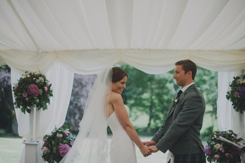 Stylish Wedding at Carphin by St Andrews, Cupar