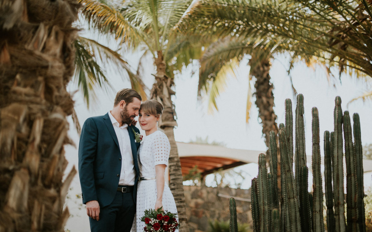 Intimate wedding in Gran Canaria