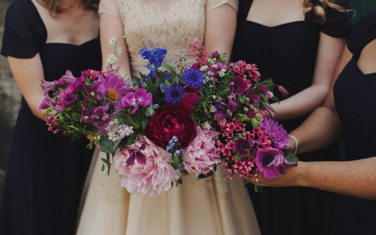 Summer wedding at the Royal Botanic Garden, Edinburgh
