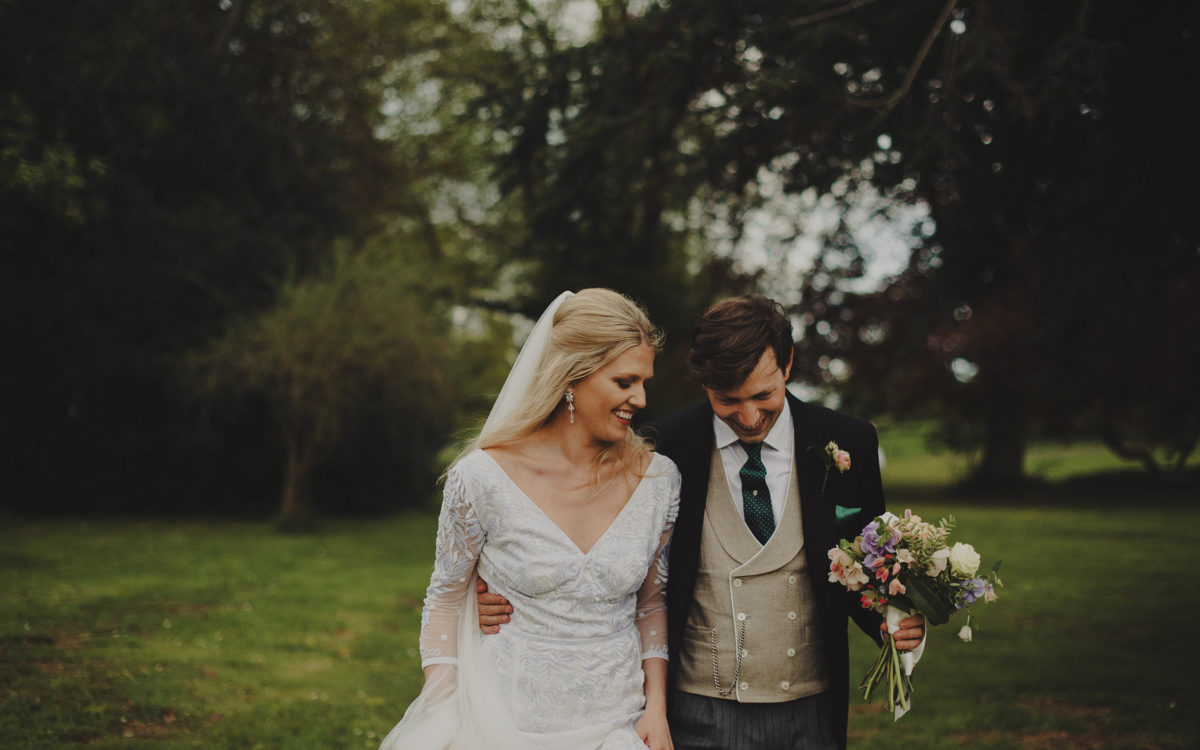 Countryside wedding at Colstoun House, East Lothian