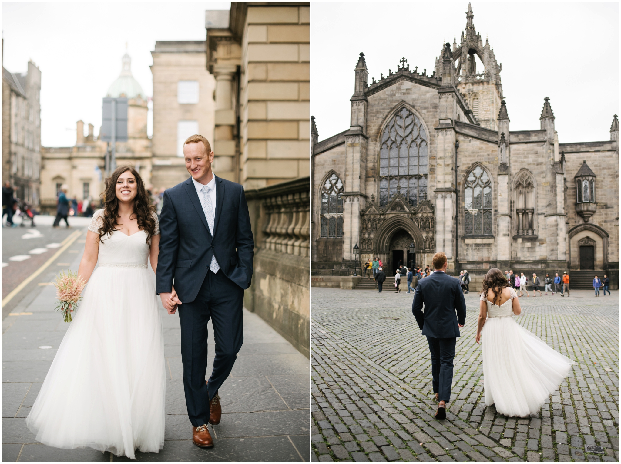 intimate elopement in Edinburgh