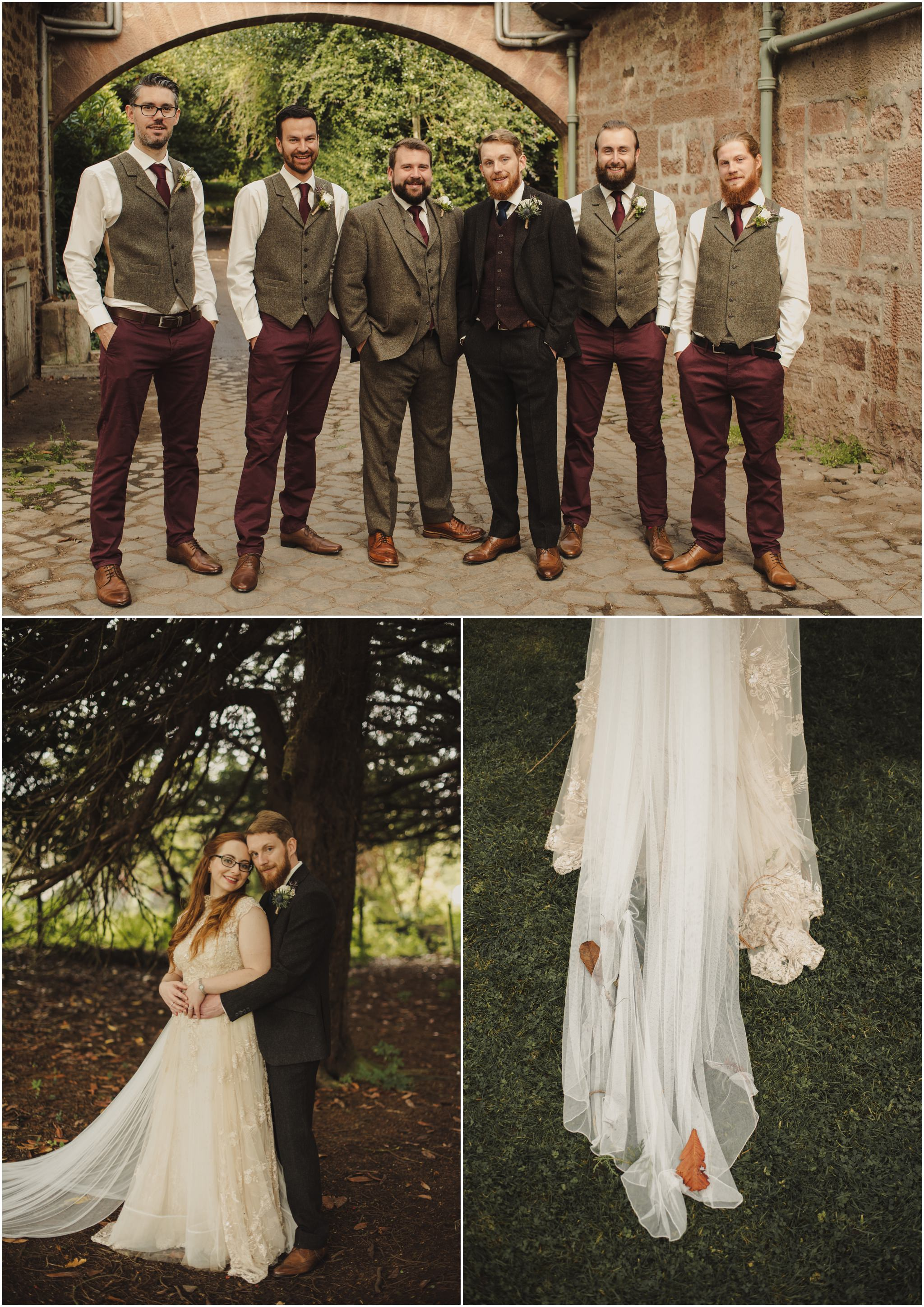 wedding at Fingask Castle