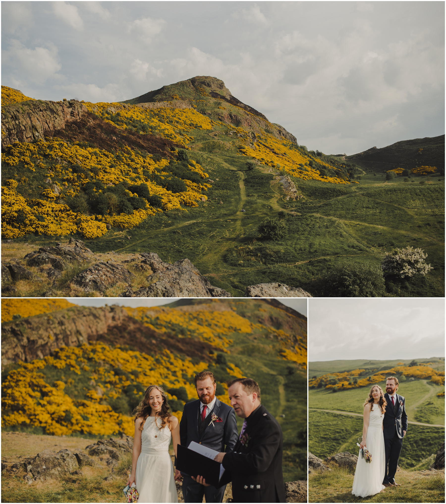Edinburgh Elopement Photos