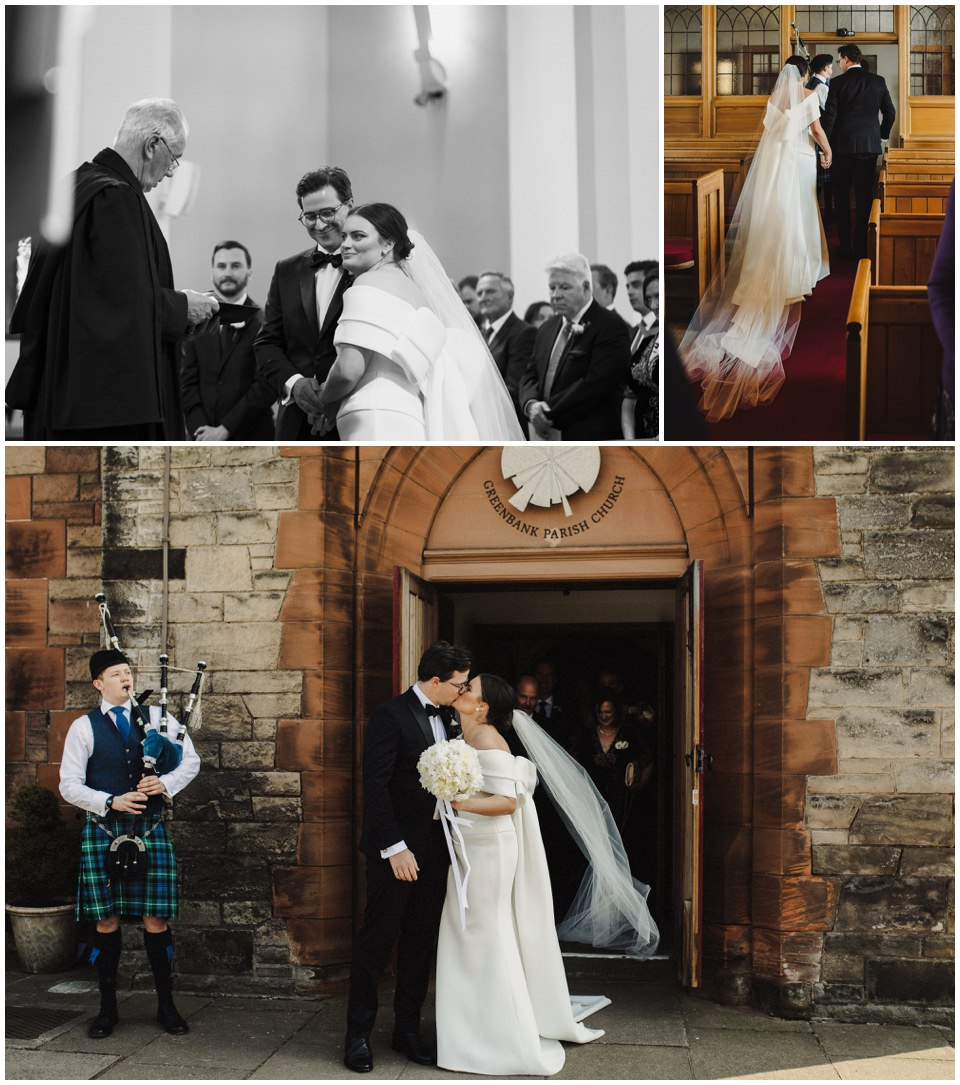 Balmoral Hotel Edinburgh City Wedding Photos